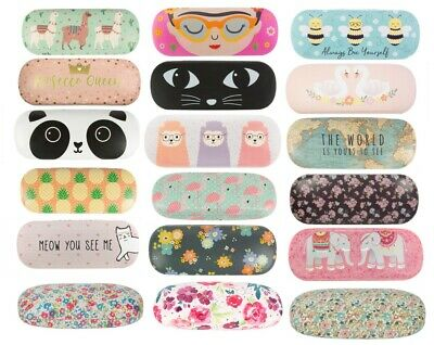 Hard Glasses Cases Spectacle Floral Sunglasses Case Storage Reading Sass Belle