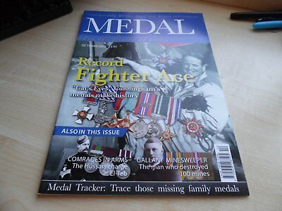 Medal News Magazine - October 2012 -Very Good Condition
