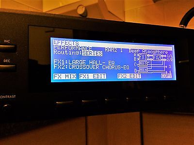 KORG WAVESTATION A/D replacement display - easy to install - beautiful quality