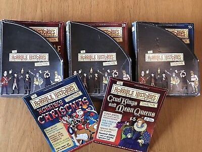 Horrible Histories Magazine Collection 1-80, Plus 2 Special Editions