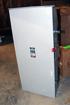 Siemens GF225NR Safety Switch Fusible 2 poles 240V 400A type 3R rainproof