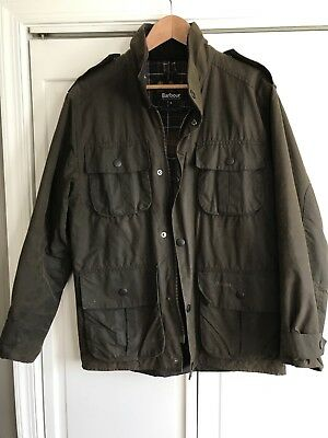 barbour waxed jacket Trooper A995