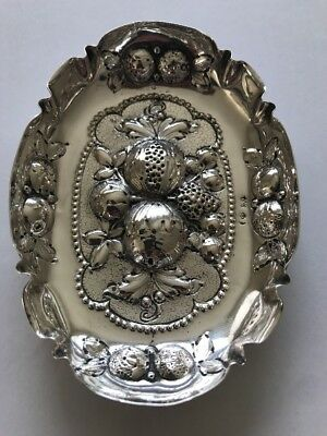 800 Silver Tray German Stamp