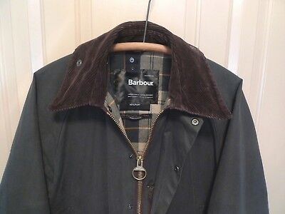 Barbour-  Classic  Beaufort Jacket -Made In England -Sage- Size 36