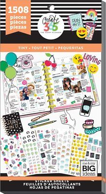 Happy Planner Sticker Value Pack - Mini - Tiny 1508 mini icon stickers
