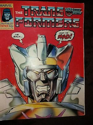 Transformers uk issue 101