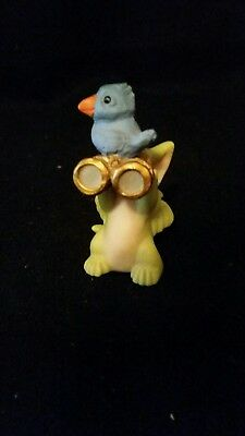 Real Musgraves Whimsical World Of Dragons 1999 Bird Watcher Figurine No Box