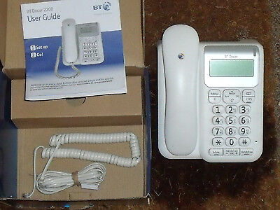 BT Decor 2200 big button Corded Telephone