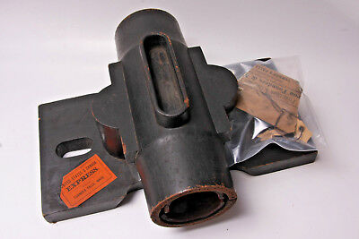 """Lamson Goodnow 2-Piece Wood Mold Leather Pattern 12"""" SteamPunk VINTAGE M09A"""