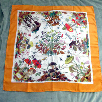 Estate Gucci V. Accornero Silk Scarf