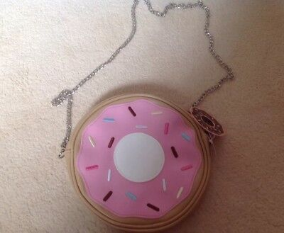 Girls Women donut design Shoulder Bag With Chain new with tags