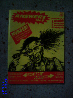 Answer Me! Issue 2 Anton Lavey 18+ Only