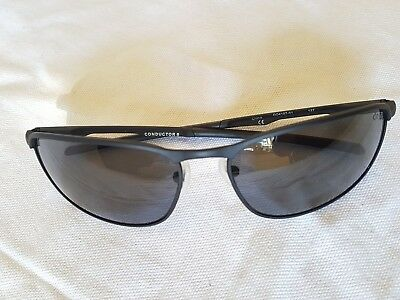 a90bae1ca5f OAKLEY CONDUCTOR 8 004107-02 60 15 Black Metal Rx Sunglasses ...