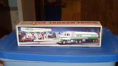 1990 Hess Toy Tanker Truck - New, In Box
