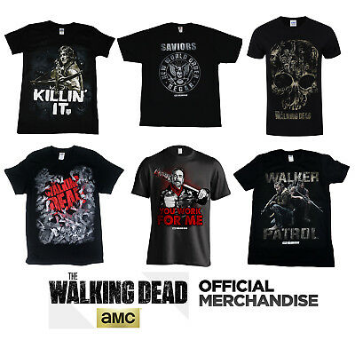 Official AMC THE WALKING DEAD T-Shirt Tee S-XXL NEW & IN STOCK Negan Daryl Rick