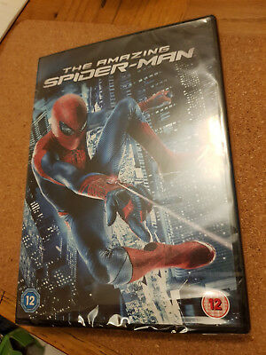 The Amazing Spider-Man (DVD, 2012) --- BRAND NEW & SEALED - Rated 12+