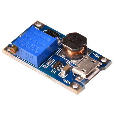 MT3608 Micro USB DC-DC Step-Up 3-28V Wandler Leistungsmodul Booster Power Supply