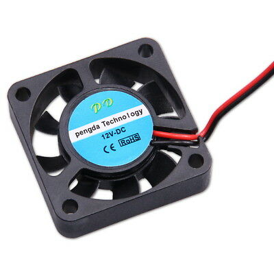 12V Lüfter 40x40x10mm 3D Drucker RepRap DC Fan Cooler Brushless