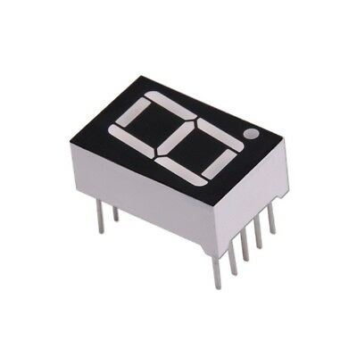 Sieben Anzeige Rot 10-Pin Common Anode / 7-Segment LED Display Red