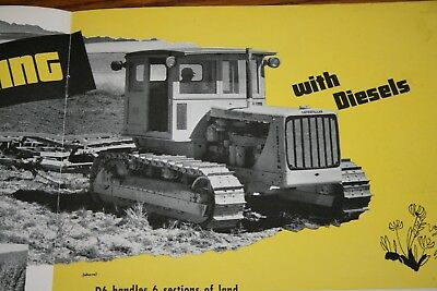 Caterpillar Tractor Company Grain Farming with Diesels Sales Brochure