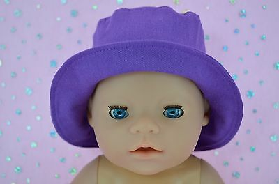 "Play n Wear Doll Clothes To Fit 17"" Baby Born DREWBERRY DRILL SUN HAT"