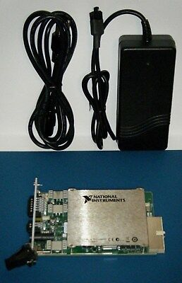 NI PXI-4110 3 Output Power Supply with APS-4100, National Instruments *Tested*