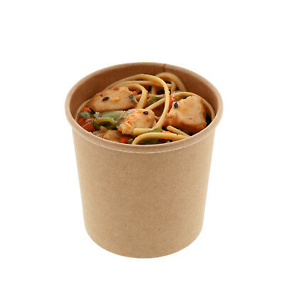 Royal 12 oz. Kraft Paper Soup/Hot Or Cold Food Containers, Package of 25