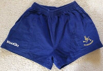 St Ives Rugby Union Cotton Shorts - Mens Size 36 / L - Kooga