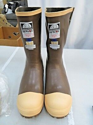 "Honeywell Servus Insulated 15"" Neoprene Steel Toe Men's Work Boots 22235 Size 9"