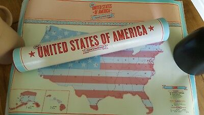 United States of America Travel Scratch Map