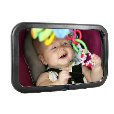 Baby mirror for car seat rear facing - best large backseat baby mirror - Shat...