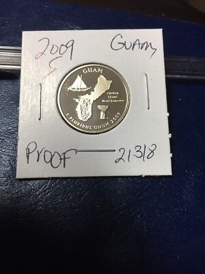 2009 S Washington Quarter Guam 21318