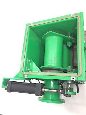"""Dynamic Air 6"""" Pneumatic Conveying Switch Receiver with Pneumatic Controls"""