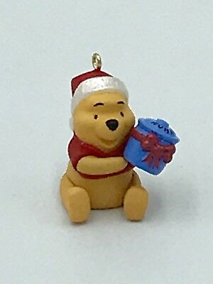 Honey of a gift Winnie the Pooh miniature hallmark ornament