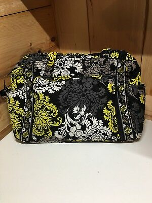 Vera Bradley Stroll Around Diaper Bag Baroque With Changing Pad