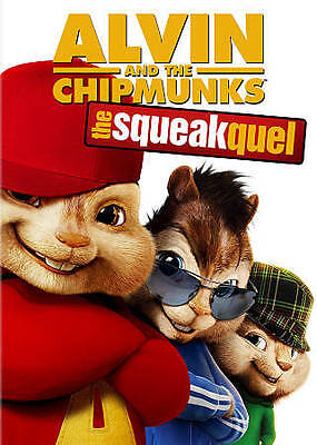 Alvin and the Chipmunks: The Squeakquel (DVD, 2010) BRAND NEW UNOPENED