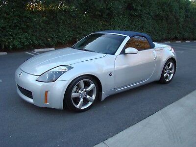 2006 Nissan 350Z Touring Automatic Roadster 2006 Nissan 350Z Auto Touring Convertible 107K Mi Leather Roadster New top NICE