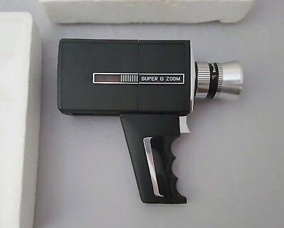 Super 8 Bell & Howell Zoom Director Series Video Film Camera