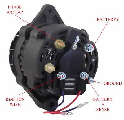 Alternator Fits Panther Marine Inboard & Sterndrive Various Models 8Ea2026Fa