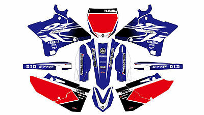 Yamaha Yz 125-250 2015 2016 Decals Stickers Graphics Kit Am 178
