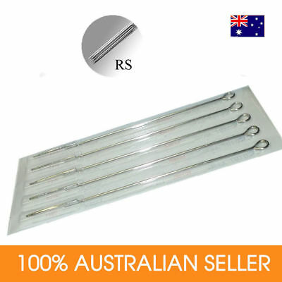 Tattoo Needles 3RS 5RS 7RS 9RS 13RS 18RS Sterilized STRIP of 5 ROUND SHADERS