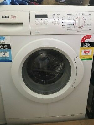 Bosch Front Load Washing Machine. Maxx Classic