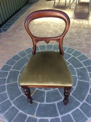 6 Antique Mahogany dining chairs c.1880