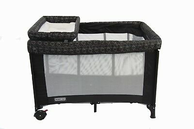 Brand New Baby Star Travel Portable Cot All In 1 Bassinet Change Table Playpen