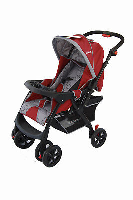 Brand New Baby 1St Dualis Stroller Reversible Handle 3 Position Flat Layback