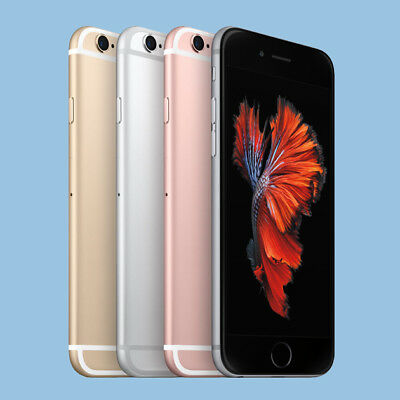 Apple iPhone 6s 32gb 64gb 128gb space grau grey rose gold silber WOW! TOP!