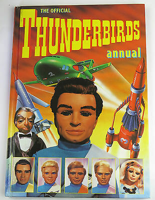1992 Thunderbirds Hardback Annual Good Condition Unclipped