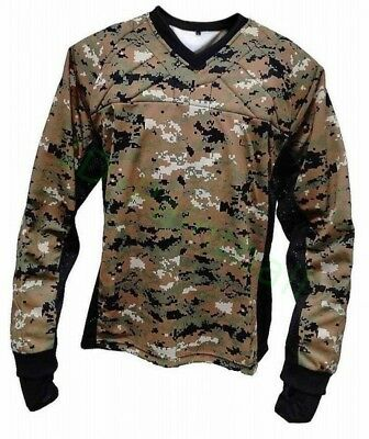 Digital Woodland Paintball Jersey Marpat Camouflage
