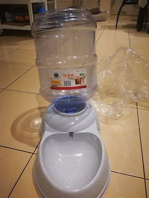 Large Pet Dog Cat automatic water feeder Bowl Bottle Dispenser 11 Liters
