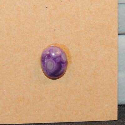 Sugilite Cabochon 8x10mm with 4.5mm dome (13299)